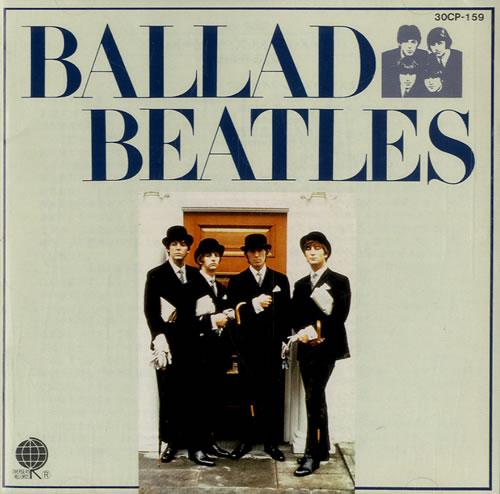 The Beatles Ballad Beatles CD album (CDLP) Japanese BTLCDBA546951