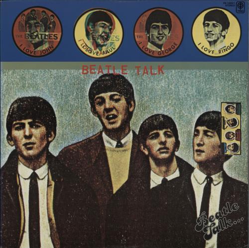 The Beatles Beatle Talk vinyl LP album (LP record) Japanese BTLLPBE764693