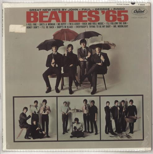The Beatles Beatles '65 - 1st - shrink vinyl LP album (LP record) US BTLLPBE211823