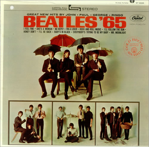 The Beatles Beatles 65 Sealed Green Label Promo Hole