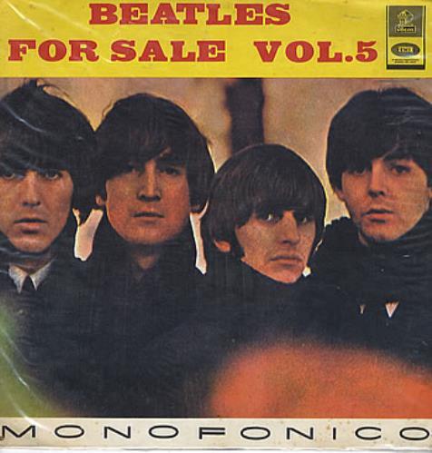 The Beatles Beatles For Sale Vol.5 - 'Monofonico' vinyl LP album (LP record) Colombian BTLLPBE291035
