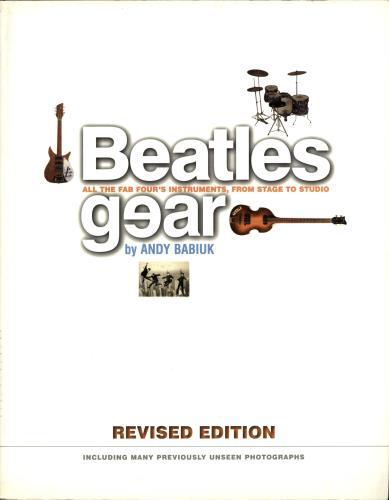 The Beatles Beatles Gear book UK BTLBKBE704984