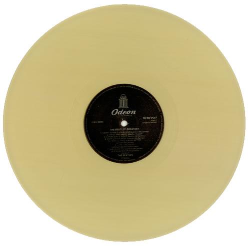 The Beatles Beatles' Greatest - Gold Vinyl vinyl LP album (LP record) Dutch BTLLPBE106104
