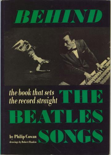 The Beatles Behind The Beatles Songs book UK BTLBKBE772615
