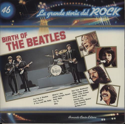The Beatles Birth Of The Beatles + Insert vinyl LP album (LP record) Italian BTLLPBI764689