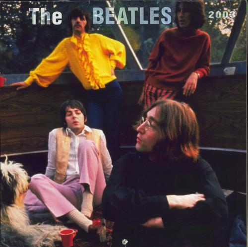 The Beatles Calendar 2003 calendar US BTLCACA770565