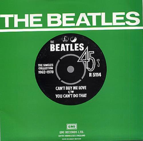 "The Beatles Can't Buy Me Love - 1976 7"" vinyl single (7 inch record) UK BTL07CA331711"
