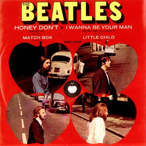 The Beatles Cari 241 O No Honey Don T Ep Mexican 7 Quot Vinyl