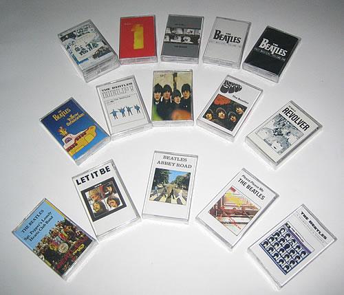The Beatles Cassette Album Collection Philippino Cassette