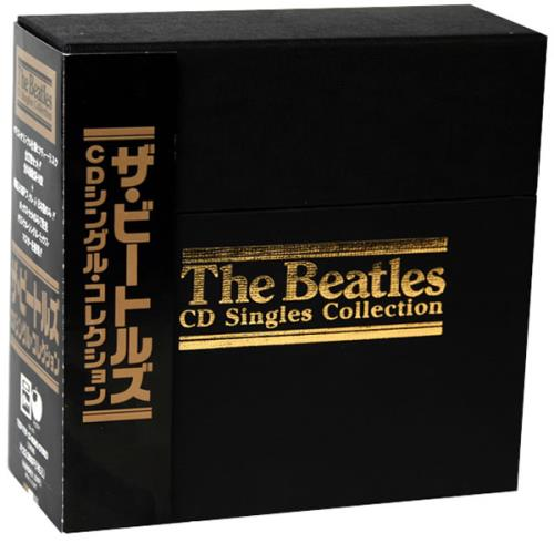 The Beatles Cd Singles Collection Japanese Cd Single Box