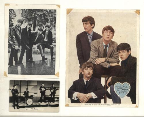 The Beatles Collection of 3 Early Publicity Shots photograph UK BTLPHCO699873