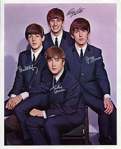 The Beatles Colour Print Uk Memorabilia 298127 Print