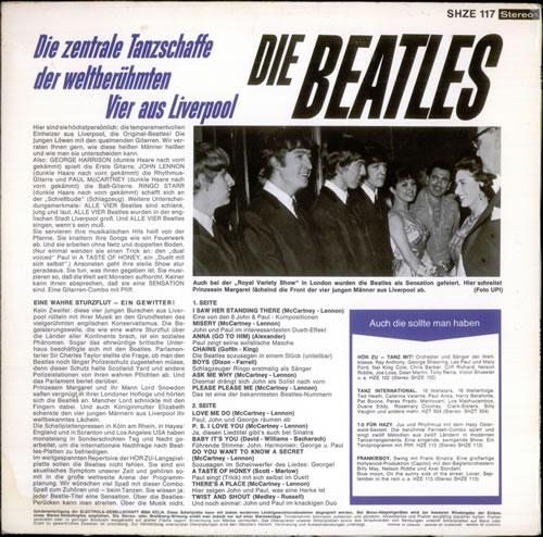 The Beatles Die Beatles - 1st vinyl LP album (LP record) German BTLLPDI244569
