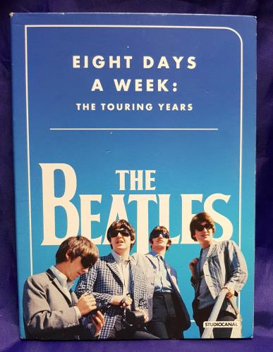 The Beatles Eight Days A Week: The Touring Years DVD UK BTLDDEI710269