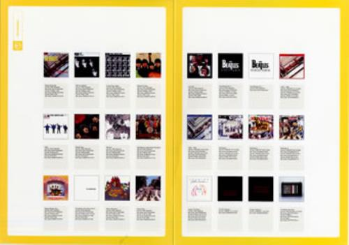 The Beatles eTM Trade Marketing Presenter handbill UK BTLHBET298902