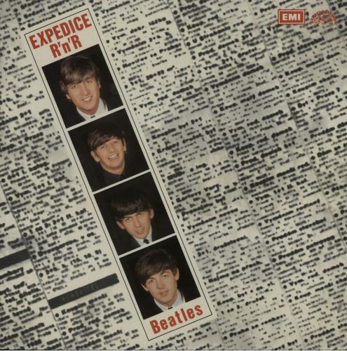 The Beatles Expedice R'n'R vinyl LP album (LP record) Czech BTLLPEX226197