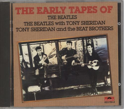 The Beatles First CD album (CDLP) German BTLCDFI712219
