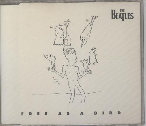 "The Beatles Free As A Bird CD single (CD5 / 5"") UK BTLC5FR57108"
