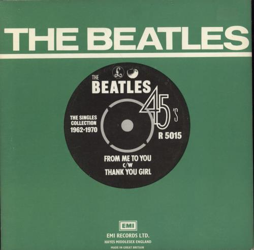 """The Beatles From Me To You - 1976 7"""" vinyl single (7 inch record) UK BTL07FR769117"""