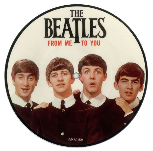 "The Beatles From Me To You 7"" vinyl picture disc 7 inch picture disc single UK BTL7PFR45489"