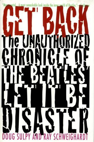 The Beatles Get Back book US BTLBKGE704982