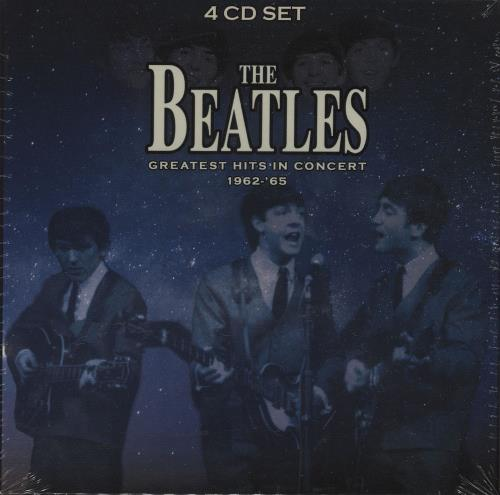 THE BEATLES Greatest Hits In Concert 1962 65 2016 UK European Czech Manufactured 67 Track 4 CD Set Bringing Together Rare And Previously Unreleased