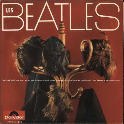 "The Beatles Hamburg 1961 - 10"" Pack CD album (CDLP) French BTLCDHA281316"