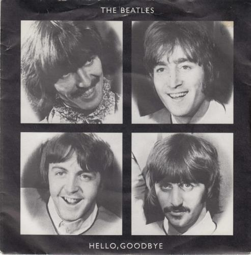 "The Beatles Hello, Goodbye - 20th 7"" vinyl single (7 inch record) UK BTL07HE62086"