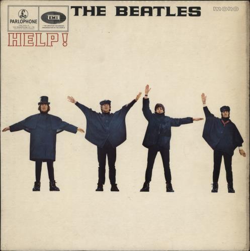 The Beatles Help! - 1st (D) - VG+ vinyl LP album (LP record) UK BTLLPHE268121