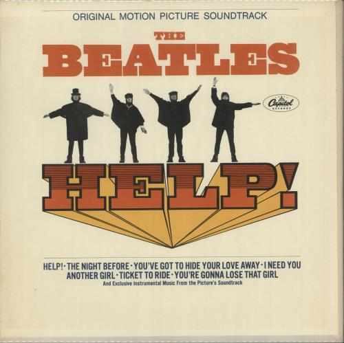 The Beatles Help! - Mono - 1st Issue vinyl LP album (LP record) US BTLLPHE266335
