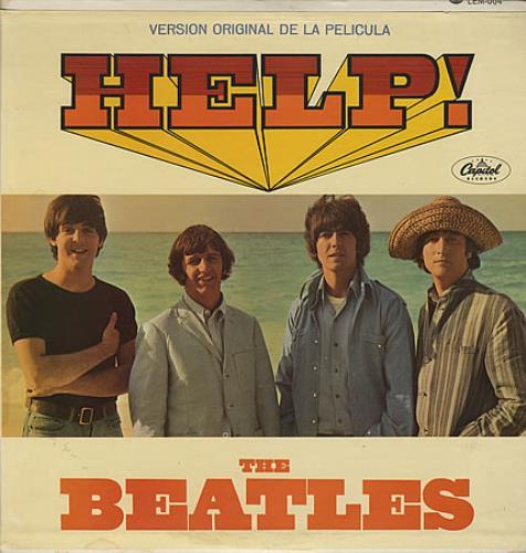 The Beatles Help! Mexican vinyl LP album (LP record) (391901)