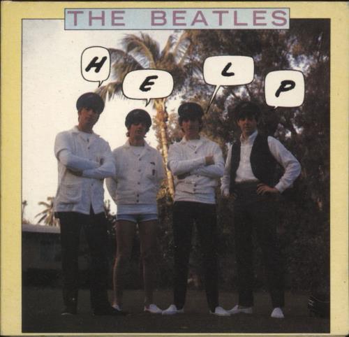 "The Beatles Help! 3"" CD single (CD3) UK BTLC3HE709097"