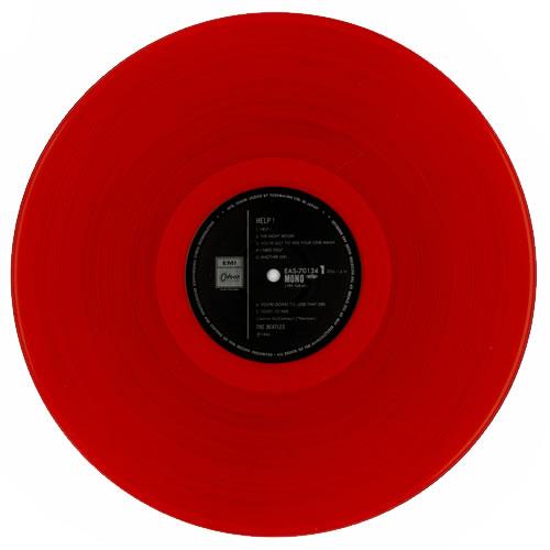 The Beatles Help - Red + 82 Obi vinyl LP album (LP record) Japanese BTLLPHE198353