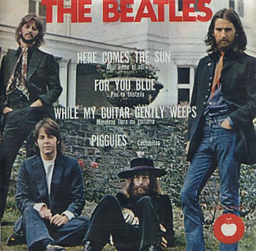 The Beatles Here Comes The Sun Mexican 7 Quot Vinyl Single 7