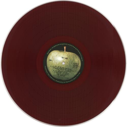 The Beatles Hey Jude - 1st Apple issue + Red Vinyl + Medallion Obi vinyl LP album (LP record) Japanese BTLLPHE219820