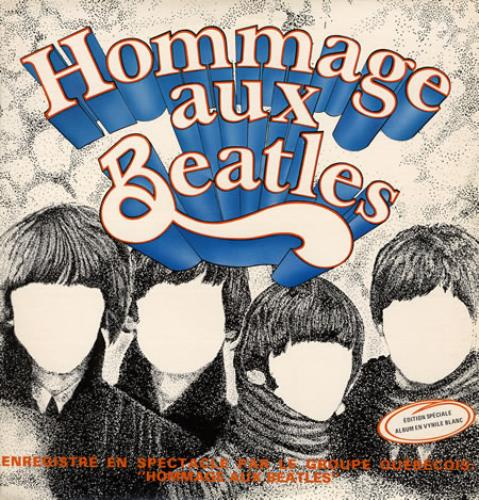 The Beatles Hommage Aux Beatles vinyl LP album (LP record) Canadian BTLLPHO359841