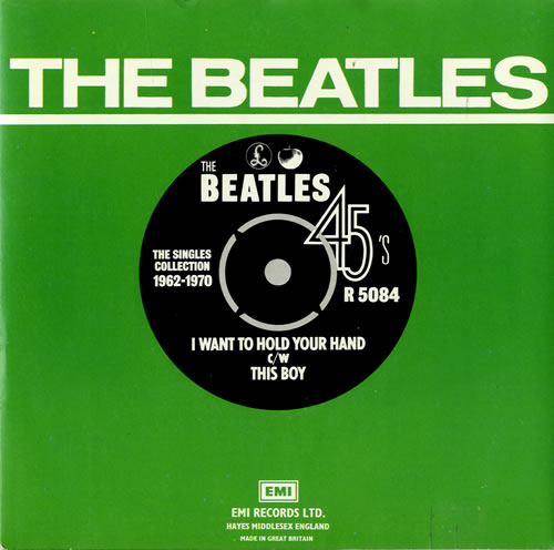 """The Beatles I Want To Hold Your Hand - 1976 7"""" vinyl single (7 inch record) UK BTL07IW553391"""