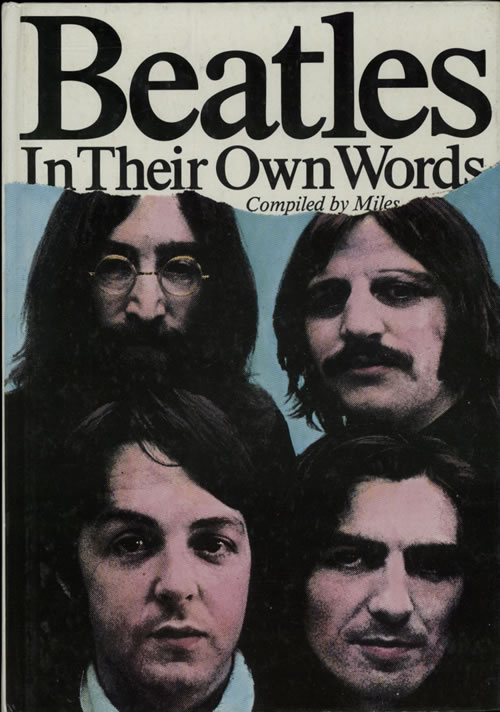 The Beatles In Their Own Words - Hardback book UK BTLBKIN628591