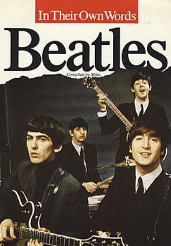The Beatles In Their Own Words book UK BTLBKIN112418