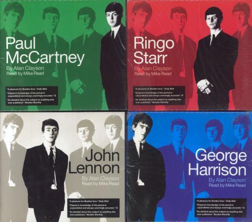 The Beatles John Lennon Paul McCartney George Harrison Ringo Starr CD Album Box