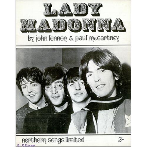 Resultado de imagen de lady madonna beatles