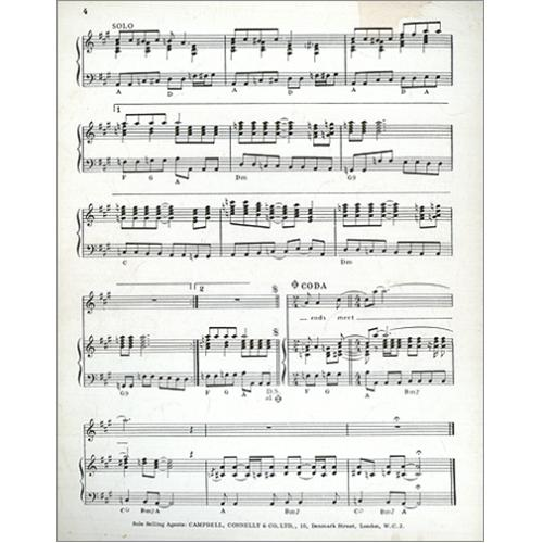 The Beatles Lady Madonna sheet music UK BTLSMLA420552