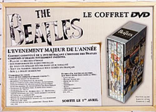 The Beatles Le Coffret DVD handbill French BTLHBLE241360