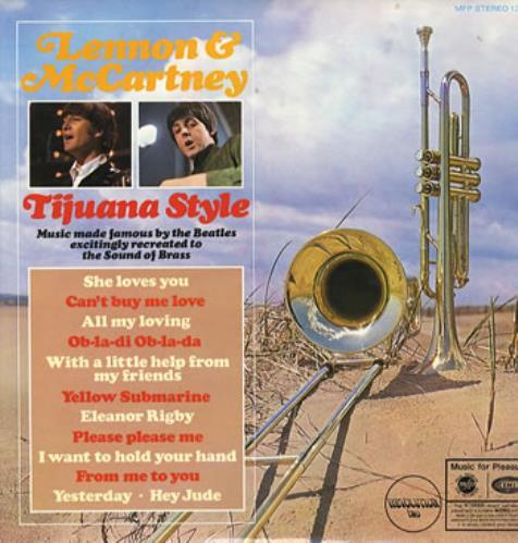 The Beatles Lennon & McCartney Tijuana Style vinyl LP album (LP record) UK BTLLPTI241337
