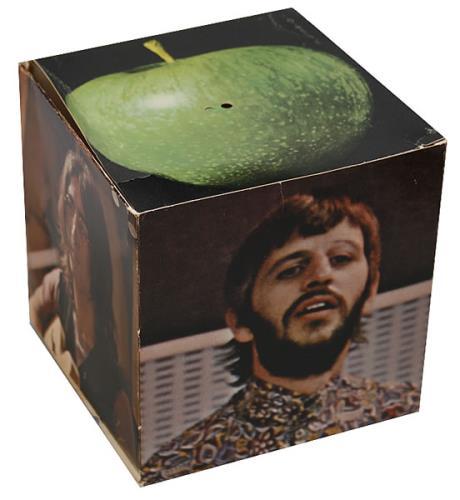The Beatles Let It Be - Fan Club Cube memorabilia US BTLMMLE436733