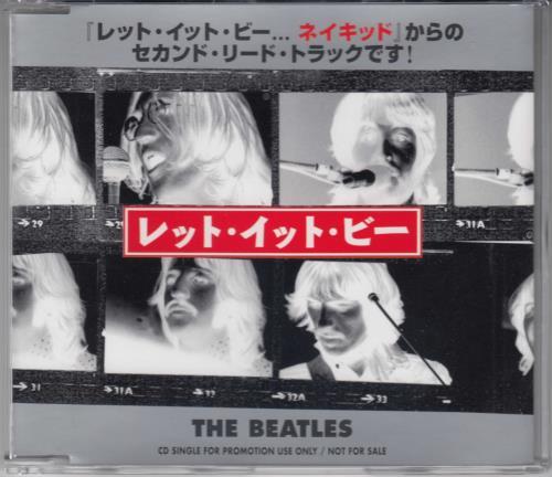"The Beatles Let It Be - Naked Version CD single (CD5 / 5"") Japanese BTLC5LE275792"