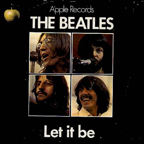 The Beatles Let It Be - p/s Australian 7