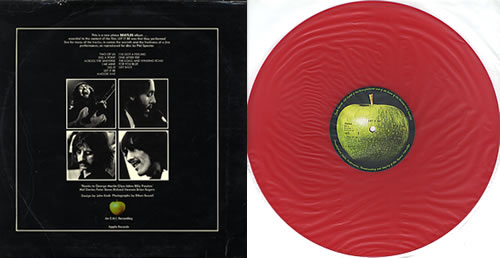 The Beatles Let It Be Red Vinyl Swedish Vinyl Lp Album