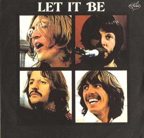 The Beatles Let It Be Russian vinyl LP album (LP record