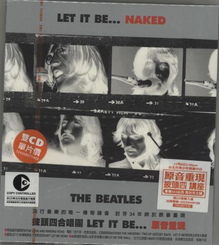 The Beatles Let It Be... Naked - Sealed 2 CD album set (Double CD) Taiwanese BTL2CLE266592